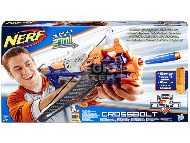 NERF N-Strike Elite Crossbolt szivacslövő íjpuska