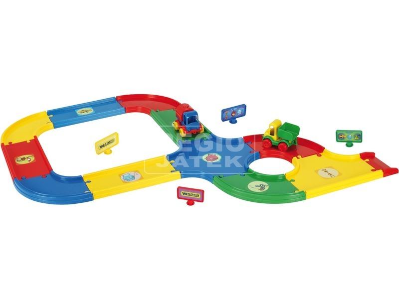 Wader Kid Cars vasútpálya - 3, 1 m