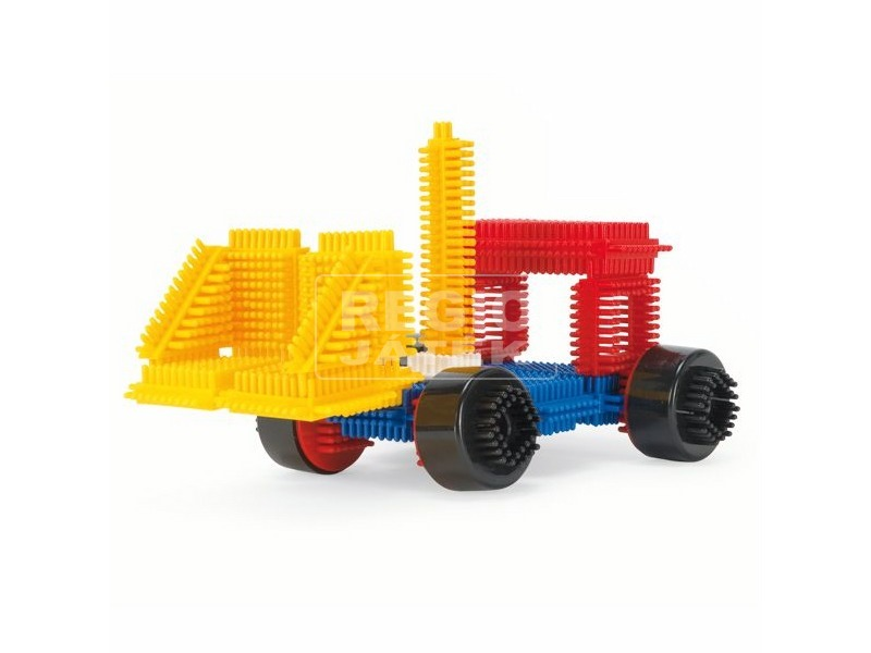 Wader tüskés műanyag építőjáték - többféle