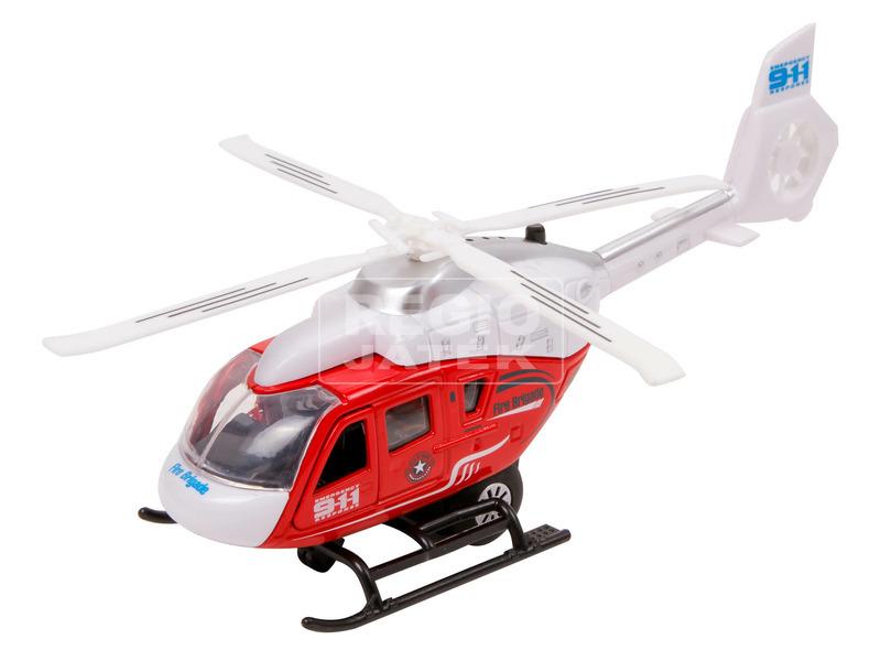 kép nagyítása Fém rendőrségi helikopter - 21 cm