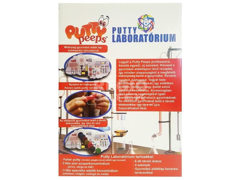 kép nagyítása Putty laboratórium