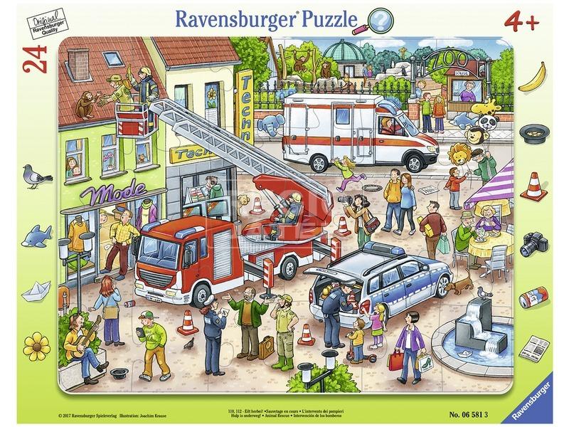 Állatmentés 24 darabos puzzle