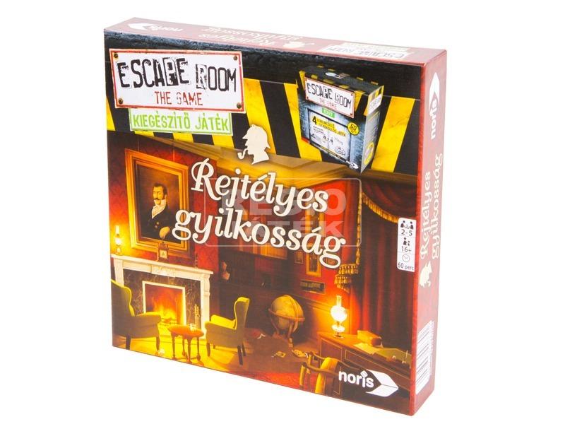 Escape Room Rejtélyes gyilkosság társasjáték