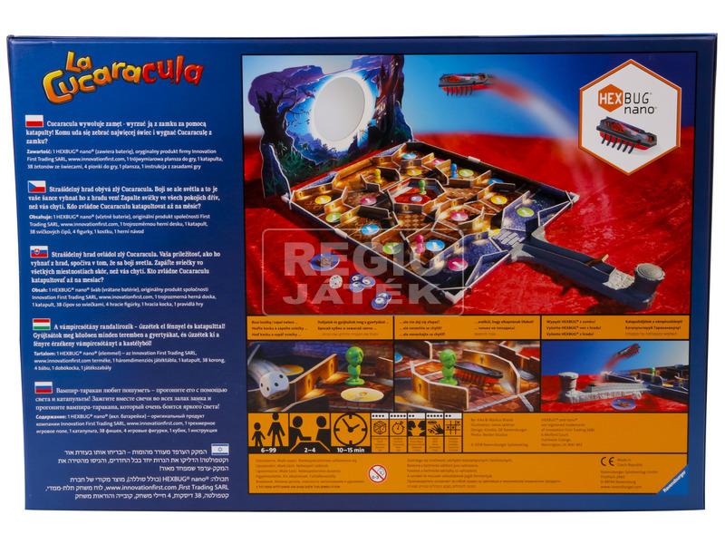 kép nagyítása La Cucaracula vámpírcsótány társasjáték