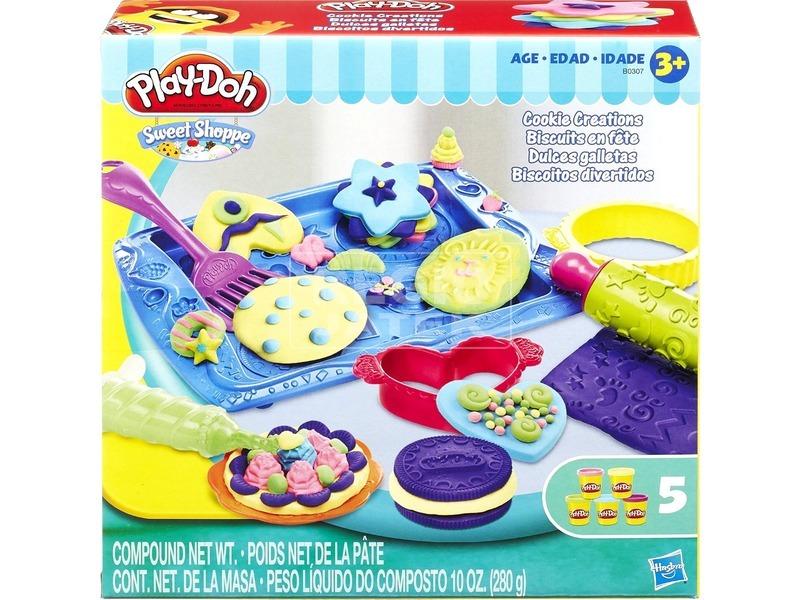 Play-Doh aprósüti készítő gyurmakészlet