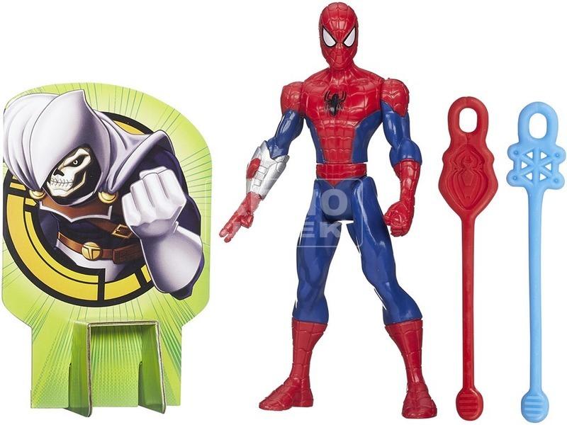 Pókember: Ultimate Spiderman hálós akciófigura - többféle