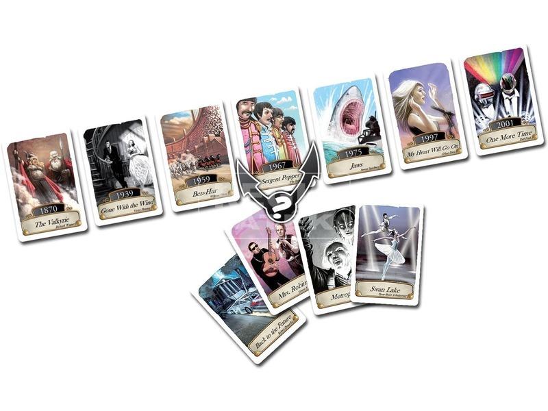kép nagyítása Timeline - zene és mozi kártyajáték