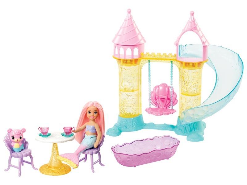 kép nagyítása Barbie Dreamtopia Chelsea kastélya babával