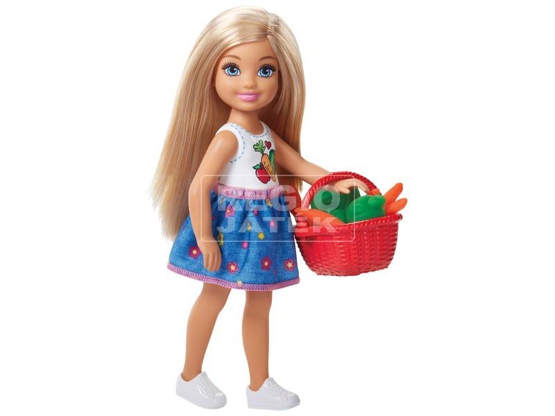 kép nagyítása Barbie Chelsea zöldséges kertje készlet