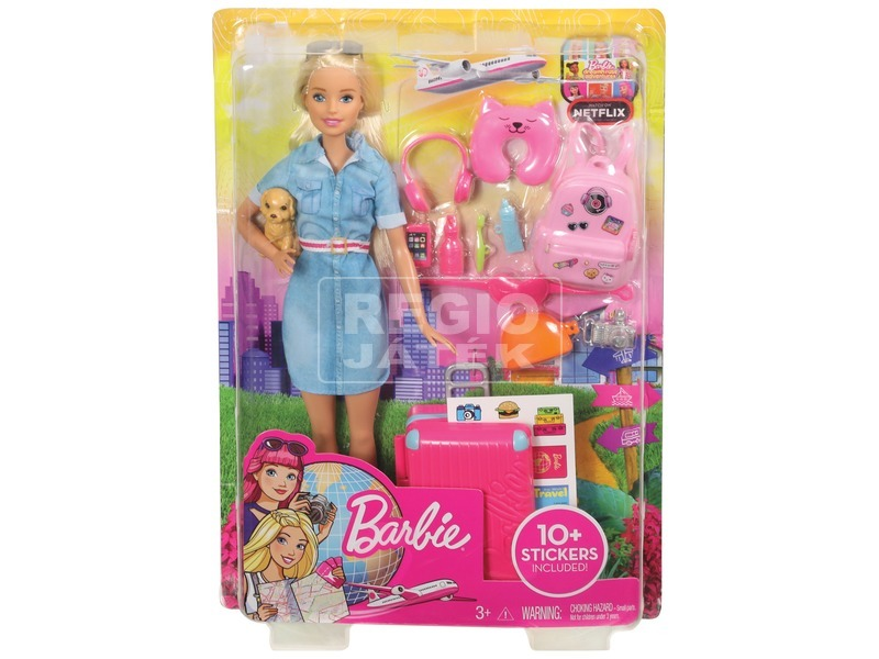 Barbie Dreamhouse kalandok Barbie baba - 29 cm