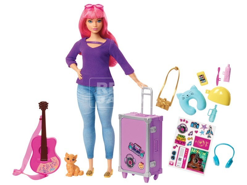 Barbie Dreamhouse kalandok Daisy baba - 29 cm