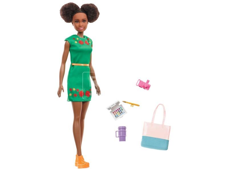 Barbie Dreamhouse kalandok Nikki baba - 29 cm