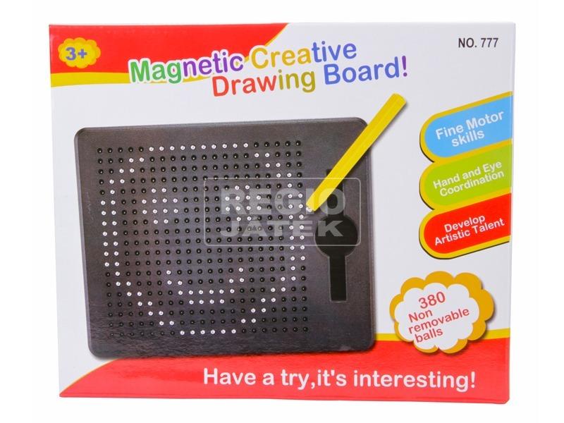 kép nagyítása Mágneses rajz 380 darabos készlet