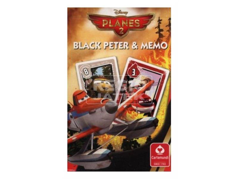 Fekete Péter mini Memo kártya Planes