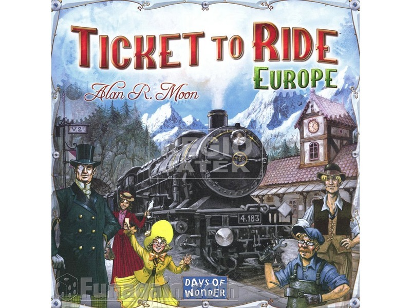 Ticket to Ride Europe társasjáték