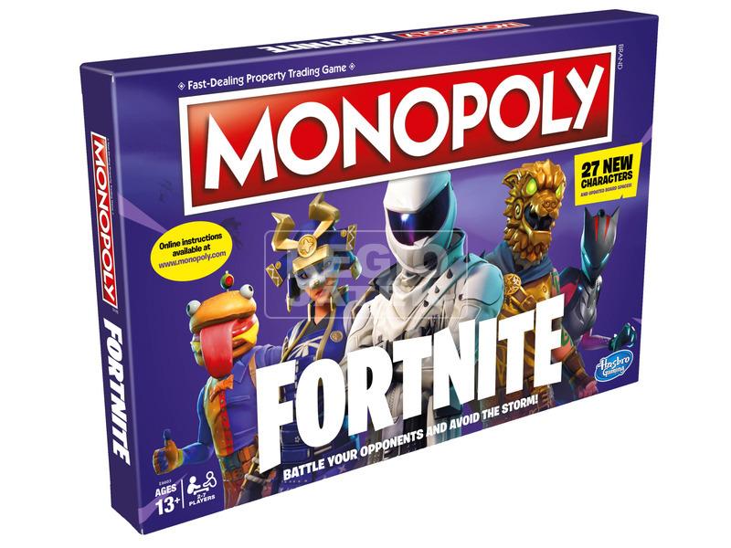 Monopoly Fortnite társasjáték - angol kiadás