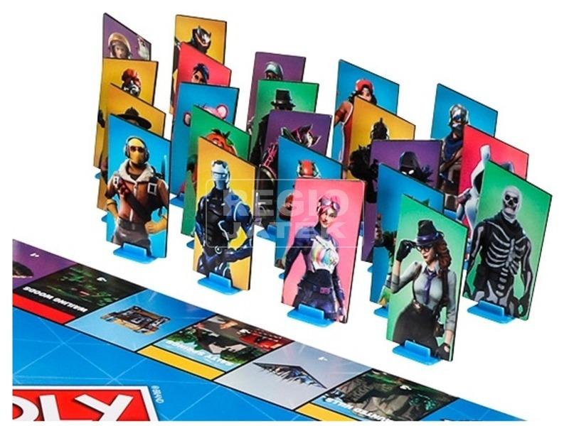 kép nagyítása Monopoly Fortnite társasjáték - angol kiadás