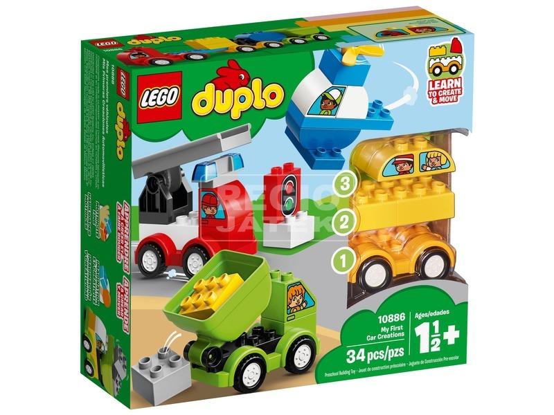 LEGO® DUPLO Első autós alkotásaim 10886