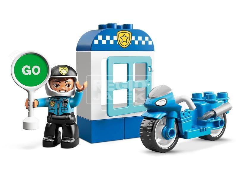 kép nagyítása LEGO® DUPLO Rendőrségi motor 10900