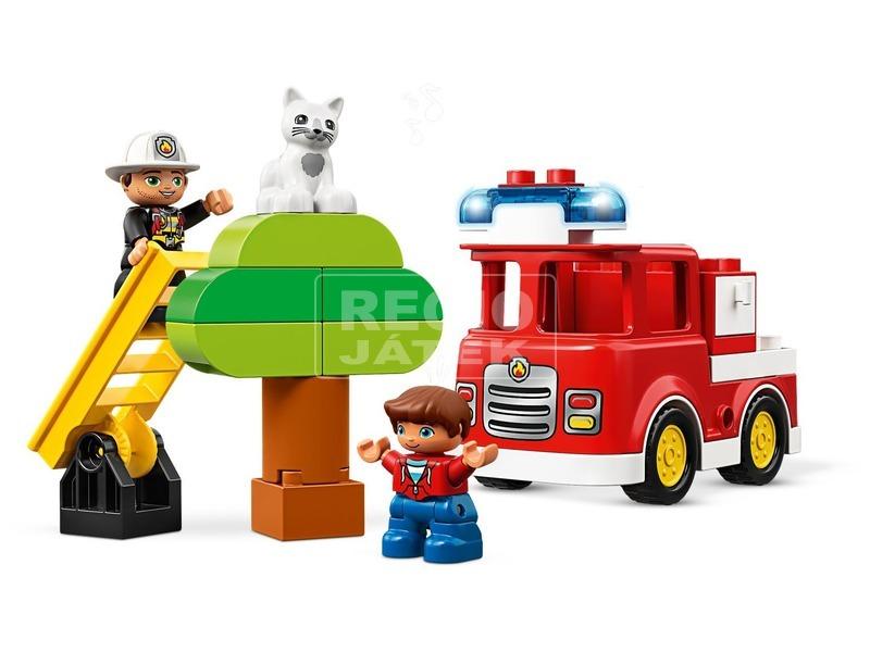 kép nagyítása LEGO® DUPLO Tűzoltóautó 10901