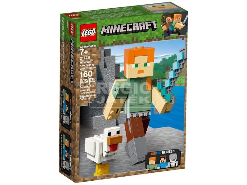 LEGO® Minecraft BigFig Alex csirkével 21149