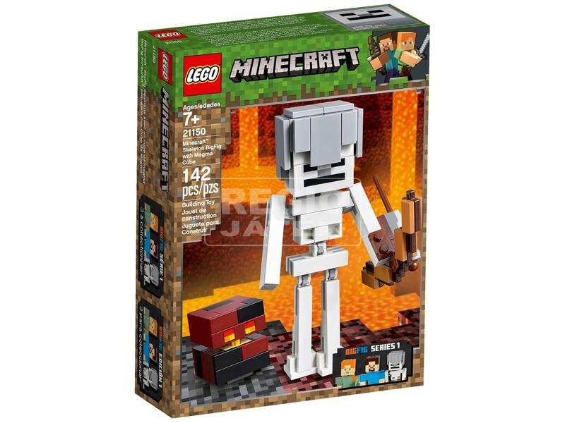 LEGO® Minecraft BigFig Csontváz magmával 21150