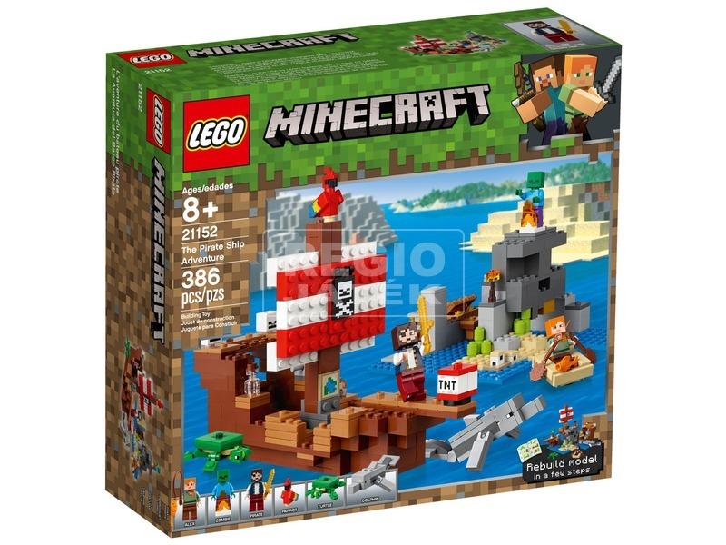LEGO® Minecraft A kalózhajós kaland 21152