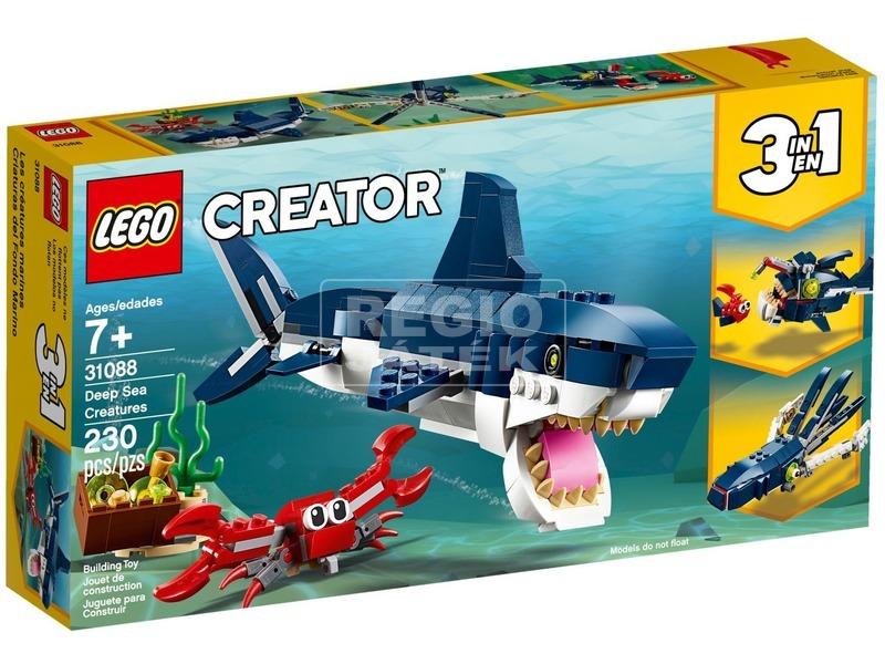LEGO® Creator Mélytengeri lények 31088