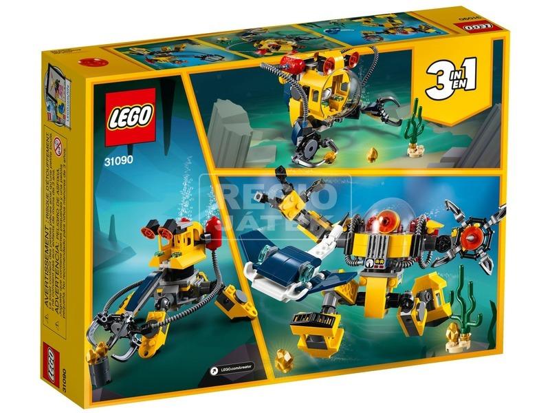 kép nagyítása LEGO® Creator Víz alatti robot 31090