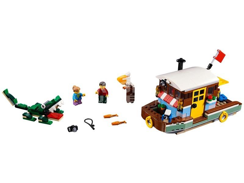 kép nagyítása LEGO® Creator Folyóparti lakóhajó 31093