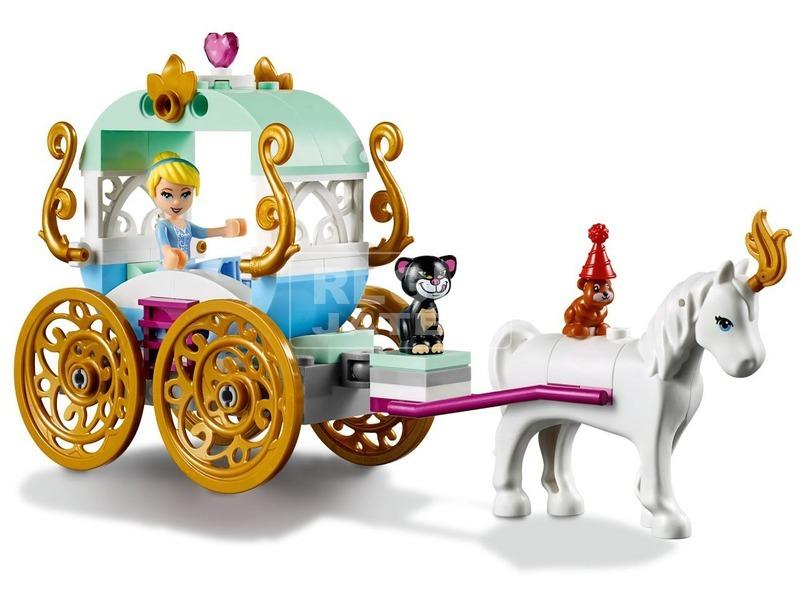 kép nagyítása LEGO® Disney Princess Hamupipőke hintója 41159