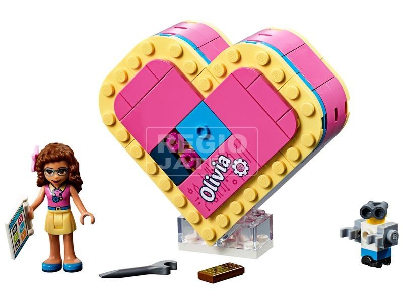 kép nagyítása LEGO® Friends Olivia Szív alakú doboza 41357