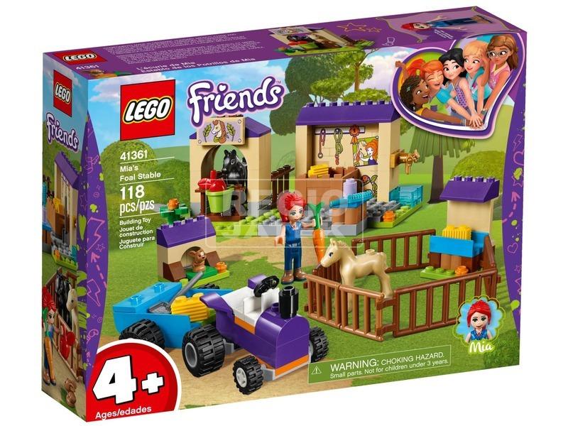 LEGO® Friends Mia istállója 41361