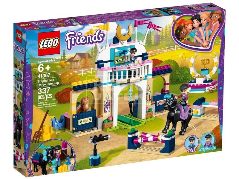 LEGO® Friends Stephanie díjugrató pályája 41367