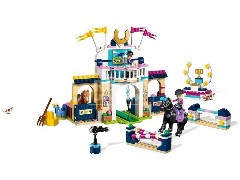 kép nagyítása LEGO® Friends Stephanie díjugrató pályája 41367