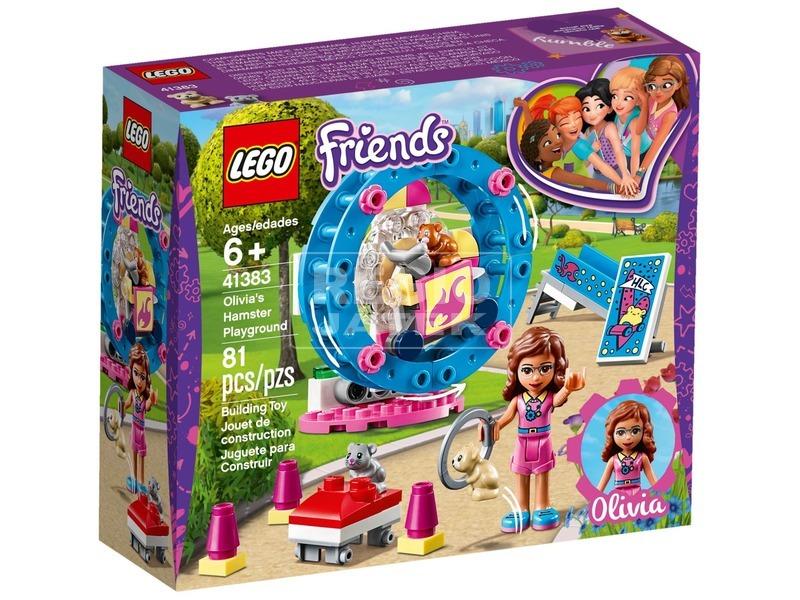 LEGO® Friends Olivia hörcsögjátszótere 41383