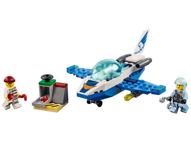 kép nagyítása LEGO® City Rendőrségi járőröző repülőgép 60206