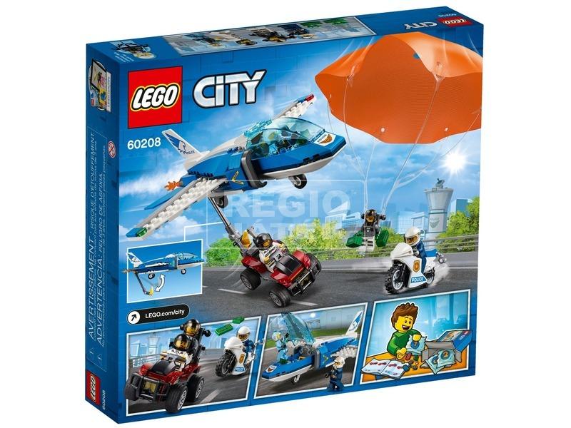 kép nagyítása LEGO® City Légi rendőrségi ejtőernyős 60208
