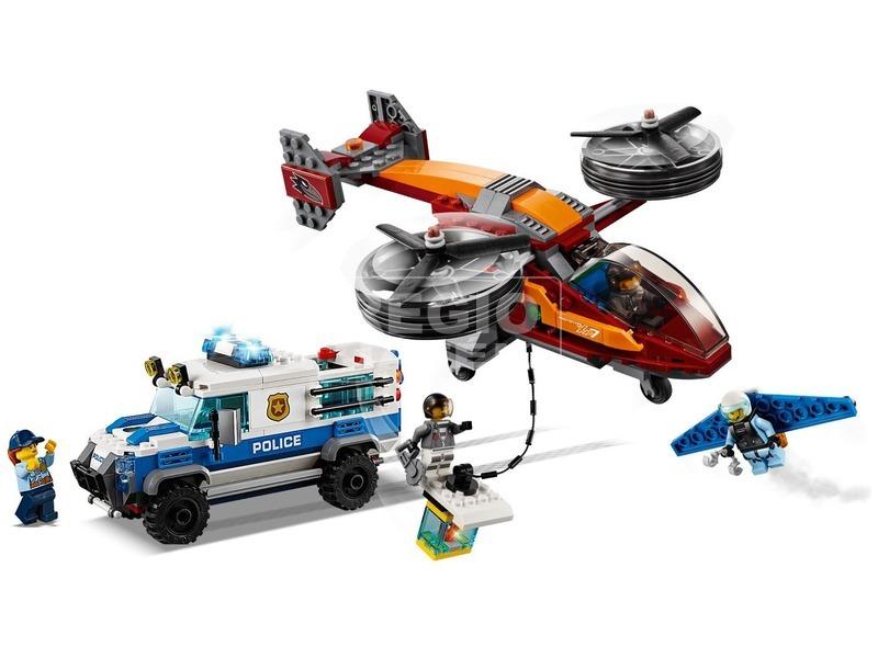 kép nagyítása LEGO® City Légi rendőrségi gyémántrablás 60209