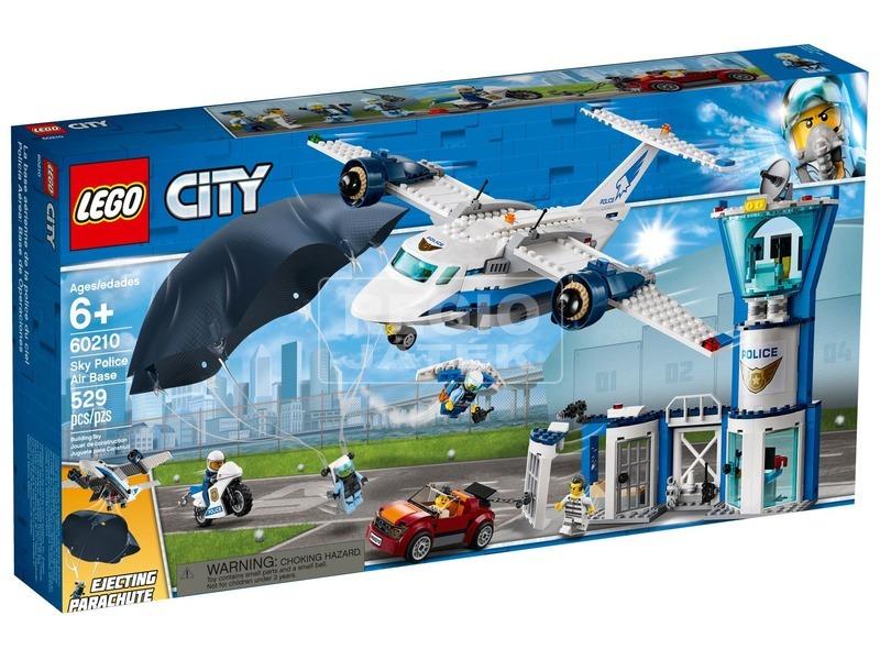LEGO® City Légi rendőrségi bázis 60210