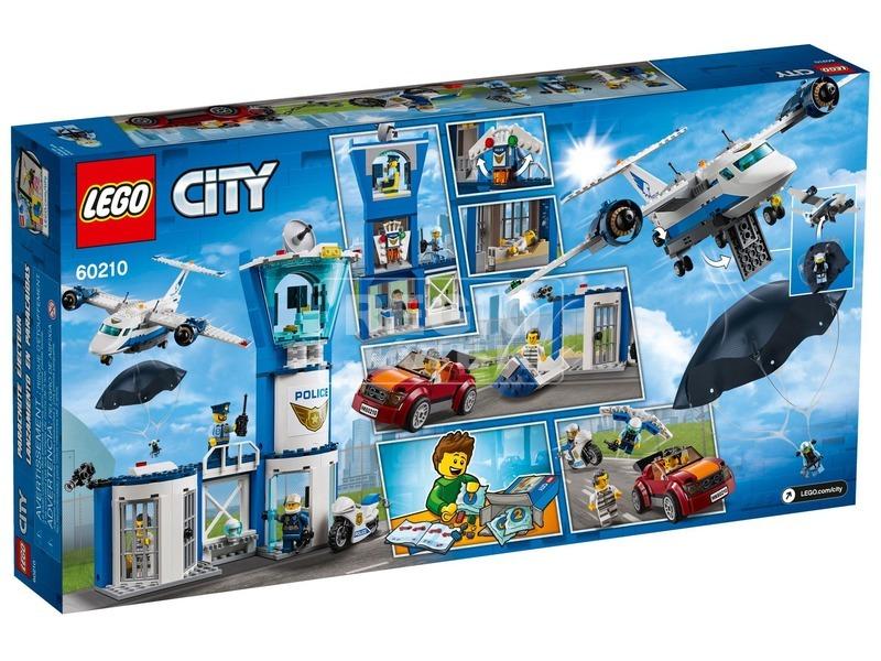 kép nagyítása LEGO® City Légi rendőrségi bázis 60210