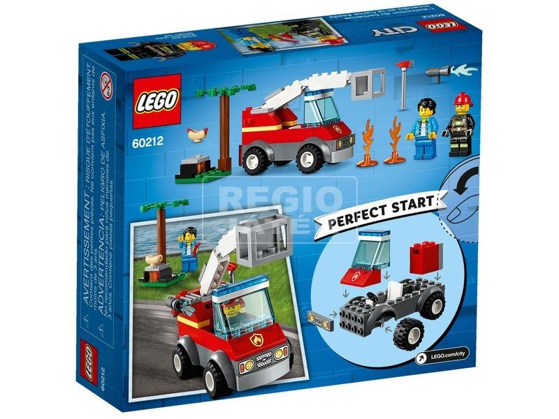 kép nagyítása LEGO® City Kiégett grill 60212