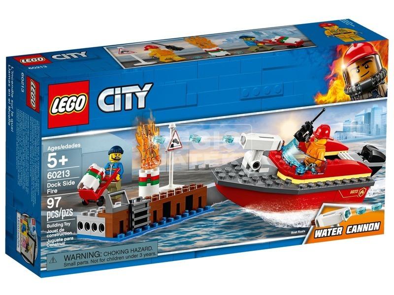 LEGO® City Tűz a dokknál 60213