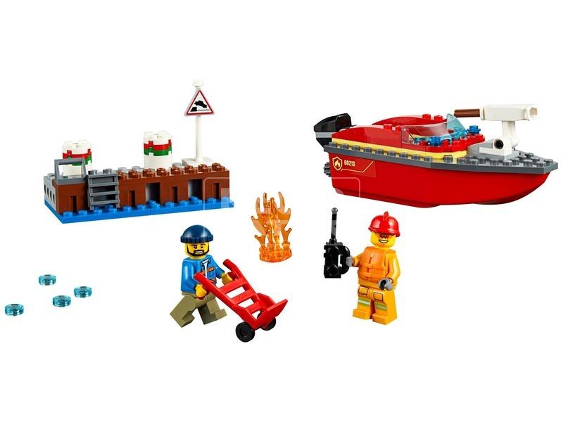 kép nagyítása LEGO® City Tűz a dokknál 60213