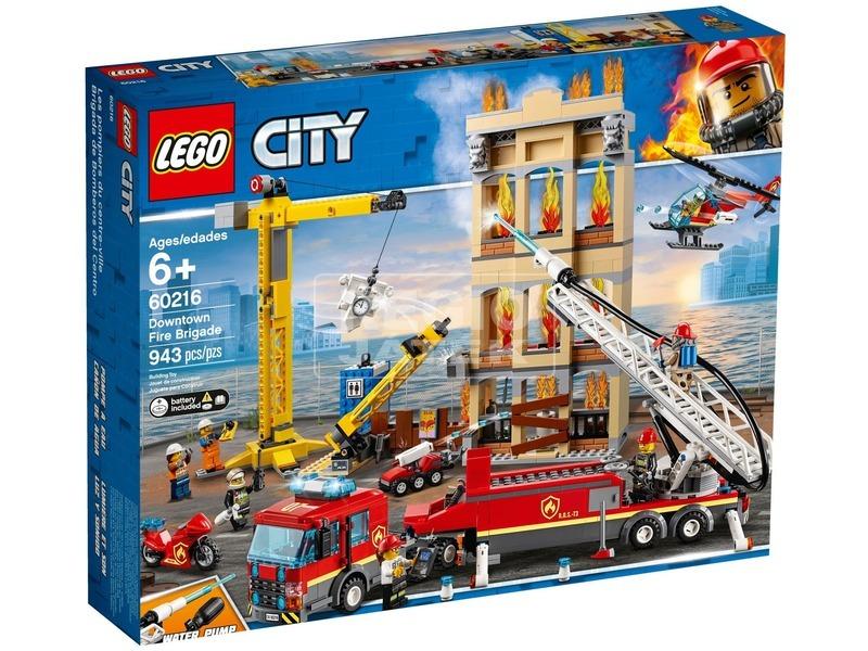 LEGO® City Belvárosi tűzoltóság 60216