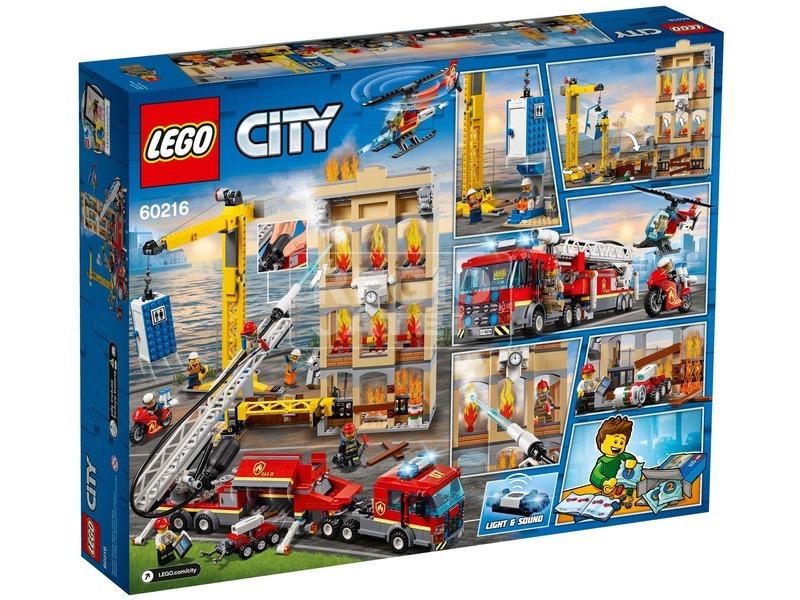 kép nagyítása LEGO® City Belvárosi tűzoltóság 60216