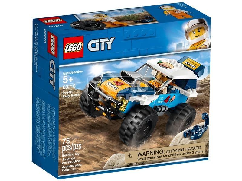 LEGO® City Sivatagi rali versenyautó 60218
