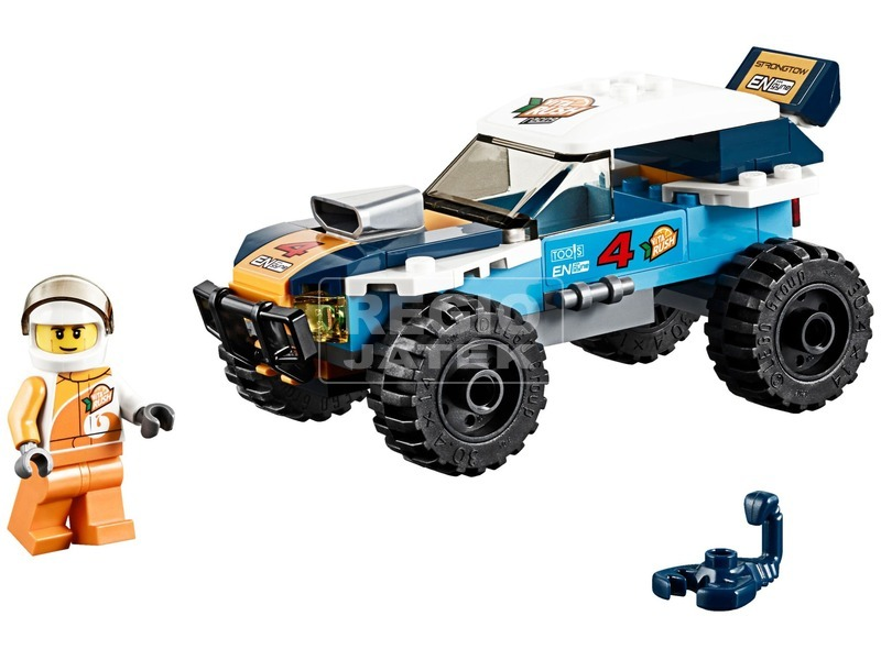 kép nagyítása LEGO® City Sivatagi rali versenyautó 60218