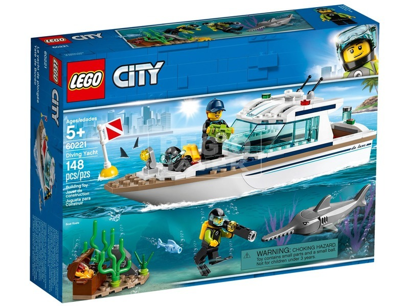 LEGO® City Búvárjacht 60221