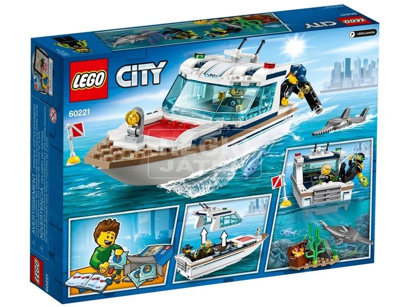 kép nagyítása LEGO® City Búvárjacht 60221